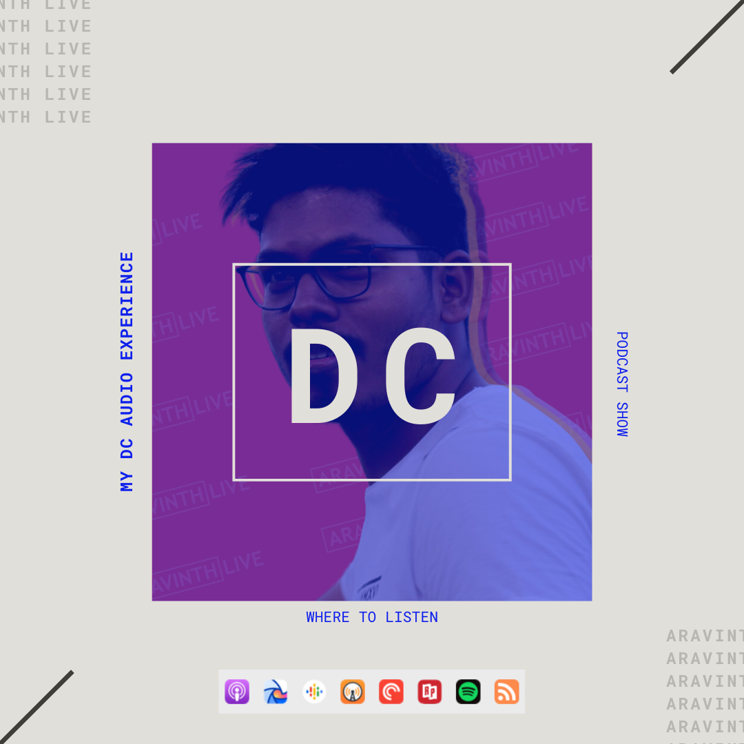 DC Podcast show cover